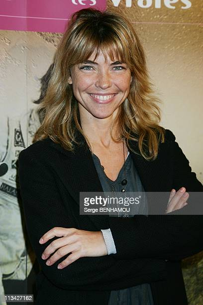 Press Conference For The 'Rallye Aicha Des Gazelles' At Marigny Theater In Paris France On March 02 2009 Nathalie Vincent