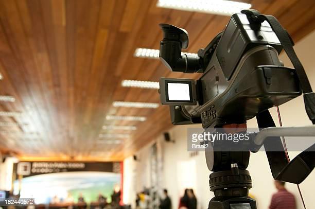 Pressekonferenz-Halle