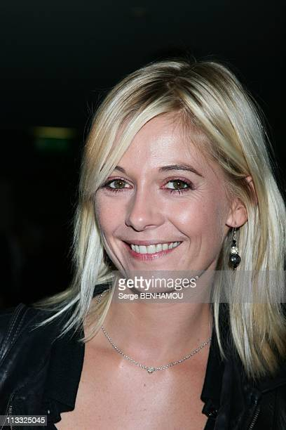 Press Conference Of Tf6 At Cabaret In Paris France On September 18 2007 Flavie Flament