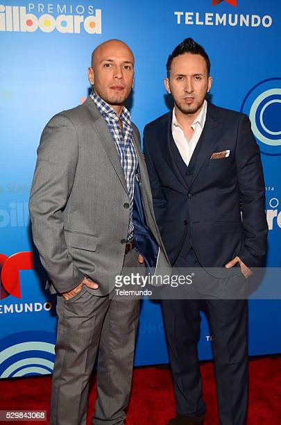 AWARDS 2014 Press Conference Pictured Alexis y Fido at the Press Conference for the 2014 Billboard Latin Music Awards presented by State Farm from...