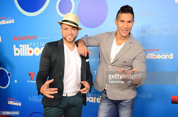 LATINA 2014 Press Conference Pictured Chino y Nacho at the Press Conference for the 2014 Billboard Latin Music Awards presented by State Farm from...
