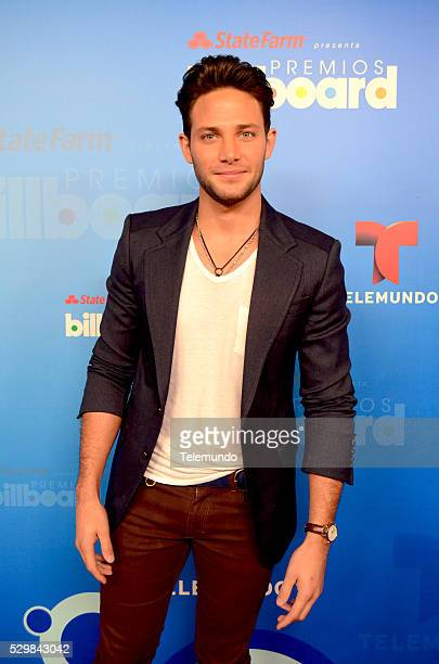 AWARDS 2014 Press Conference Pictured Gabriel Coronel at the Press Conference for the 2014 Billboard Latin Music Awards presented by State Farm from...