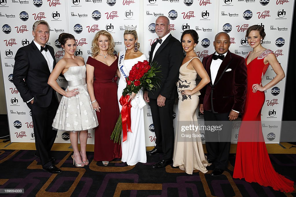 COMPETITION - Press Conference - 'The 2013 Miss America Competition' was telecast live from the Planet Hollywood Resort & Casino in Las Vegas on SATURDAY, JANUARY 12, 2013 (9:00-11:00 p.m., ET) on the ABC Television Network. SAM