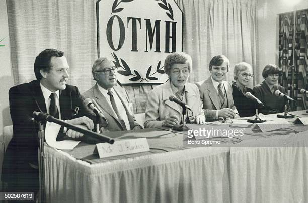 Press conference The contract the Rankins signed with the Toronto Sun newspaper and CFTO Television didn't stop the rest of the media The hospital...