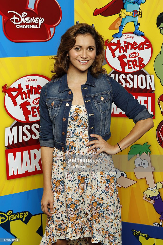 FERB - Press Junket - The 'Phineas and Ferb: Mission Marvel' cast and creative team at the 'Phineas and Ferb: Mission Marvel' press junket in Burbank, California on July 23, 2013. 'Phineas and Ferb: Mission Marvel,' the first ever crossover television special for Marvel and Disney properties premieres Friday, August 16 (8:00 p.m., ET/PT) on Disney Channel. ALYSON