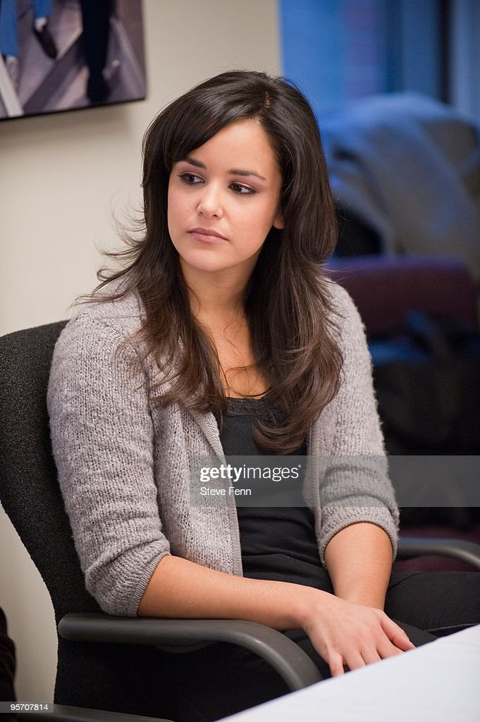 LIVE - Press lunch at ABC with 'One Life to Live''s Cramer Women on Jan. 7, 2010. 'One Life to Live' airs Monday-Friday (2:00 -3:00 p.m., ET) on the ABC Television Network. Shown here is Melissa Fumero ('Adriana') (Photo by Steve Fenn/ABC via Getty Images) MELISSA