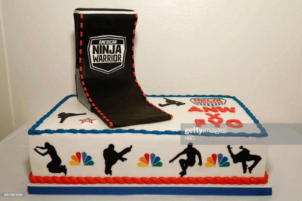 American Ninja Warrior Cake --