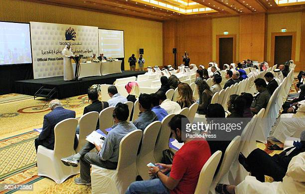 Press photographers journalist PR and Media representatives during the press conference The official press conference announced the launching of the...