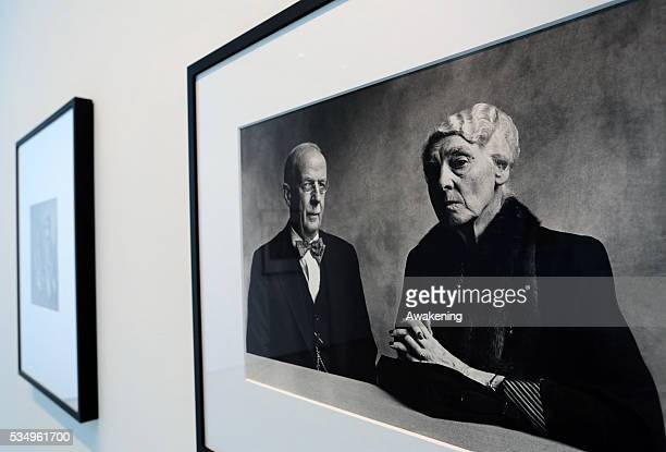 Press presentation of the photographic exhibition ' Irving Penn Resonance ' and of the art exhibition ' The Illusion of Light ' at Palazzo Grassi...