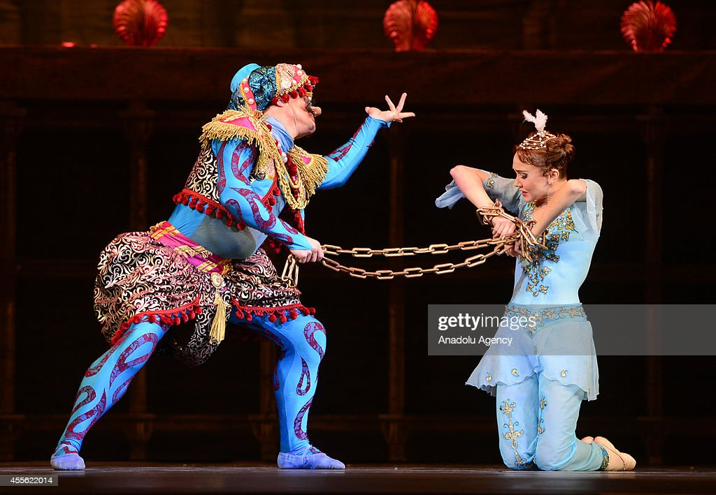 Press preview of 'The Magic Flute' is carried out that will be staged tomorrow on the premiere of III International Festival of Ballet at the State...