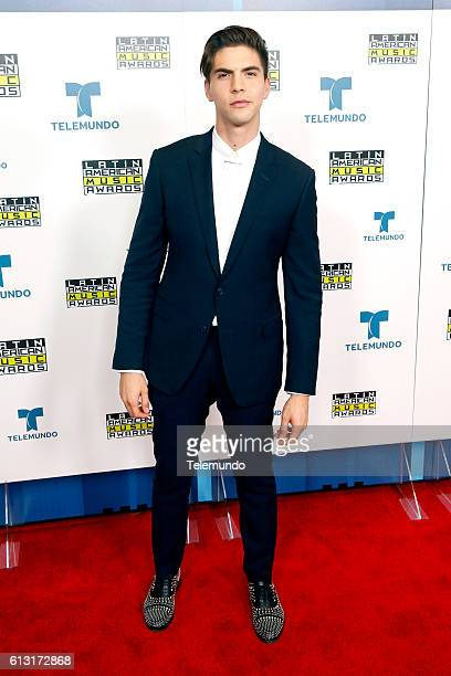 AWARDS 'Press Room' Pictured Johann Vera poses backstage at the 2016 Latin American Music Awards at the Dolby Theater in Los Angeles CA on October 6...