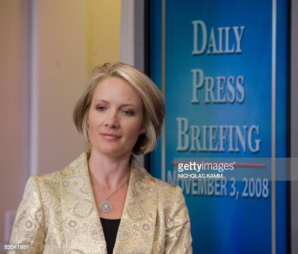 US Press Secretary Dana Perino speaks du Pictures | Getty ...