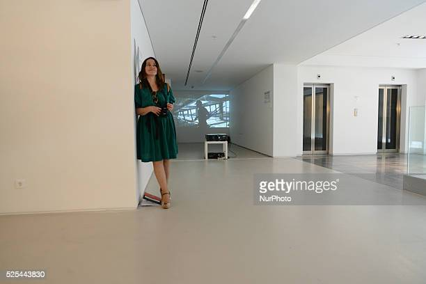 Pressconference at the new National Museum of Contemporary Art in the former industry complex of the Fix Beer brewery in Athens on May 16 Fix beer...