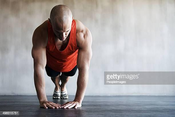 Repassage et d'améliorer son endurance sur