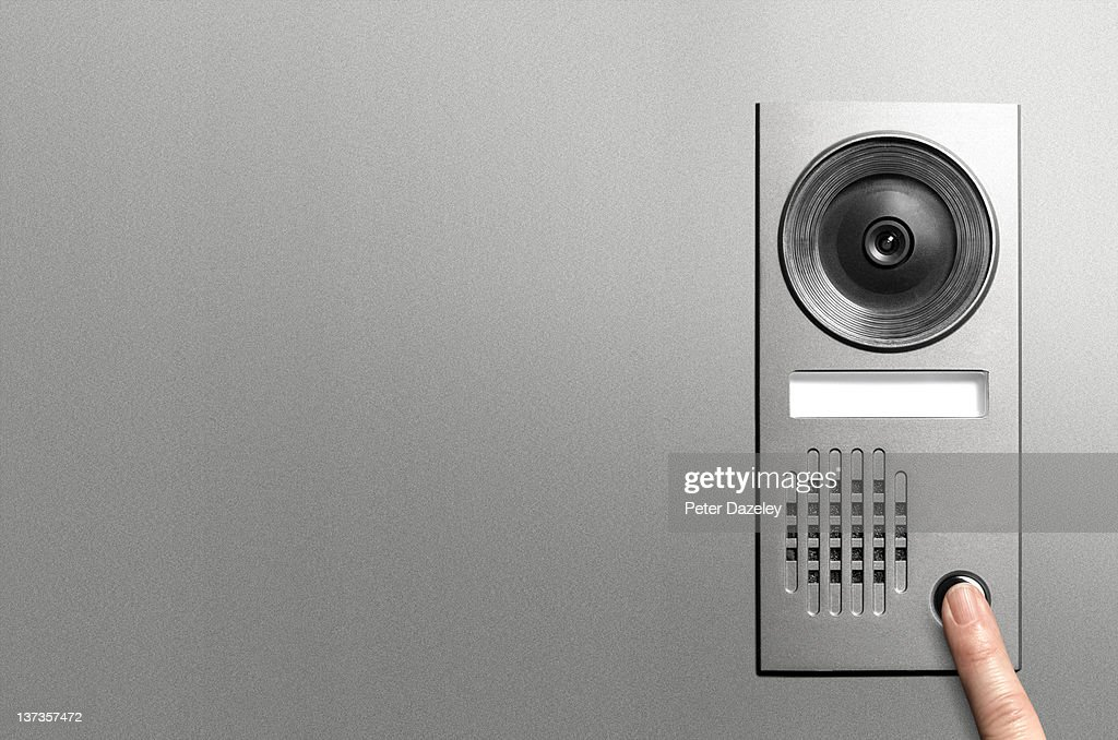 Pressing video door entry system with copy space