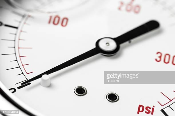 Pressure gauge detail