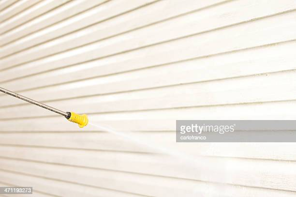 Druck Waschen house-Seite