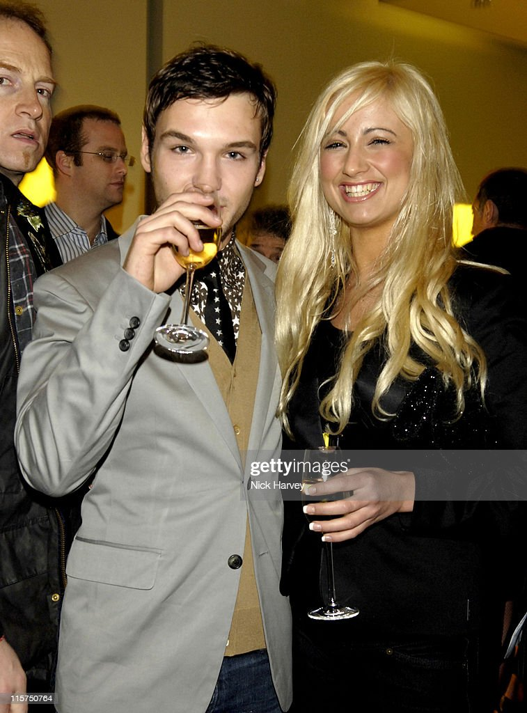 Preston and Chantelle Houghton during Prada and GQ Style Host Spring/Summer Preview Party March 30 2006 at Prada Store in London Great Britain