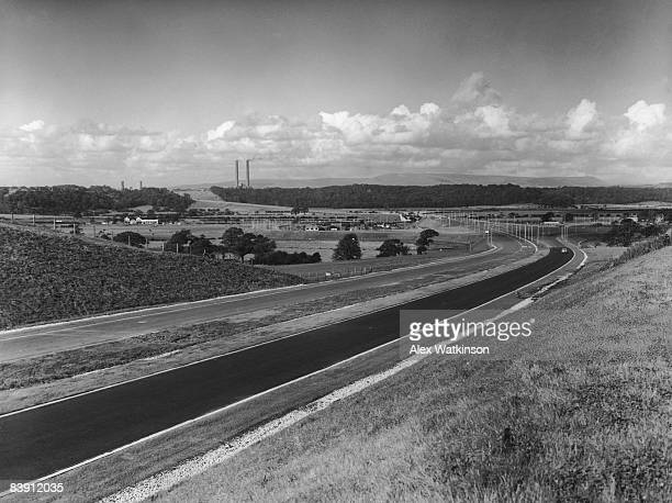 Preston bypass in Lancashire circa 1966 The first motorway in England it later became part of the M6
