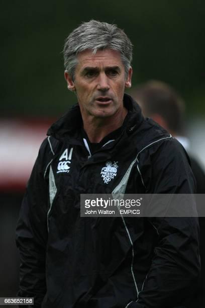 Preston North End manager Alan Irvine