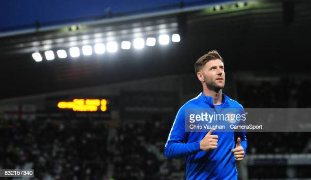 Preston North End's Paul Gallagher during the Sky Bet Championship match between Derby County and Preston North End at Pride Park Stadium on August...