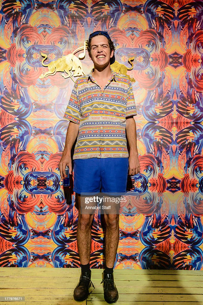 Preston Thompson poses for a portrait at the Red Bull Music Academy Sound System at Notting Hill Carnival at Notting Hill on August 26, 2013 in London, England.