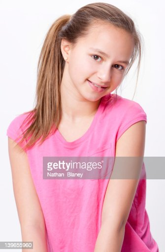 Preteen Girl Stock Photo   Getty Images