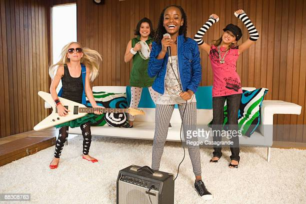 Pre-teen girl rock band