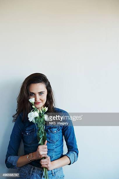 Hübsche als Blume