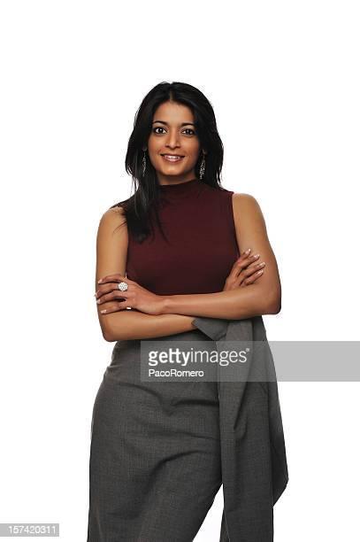 Pretty Asian businesswoman