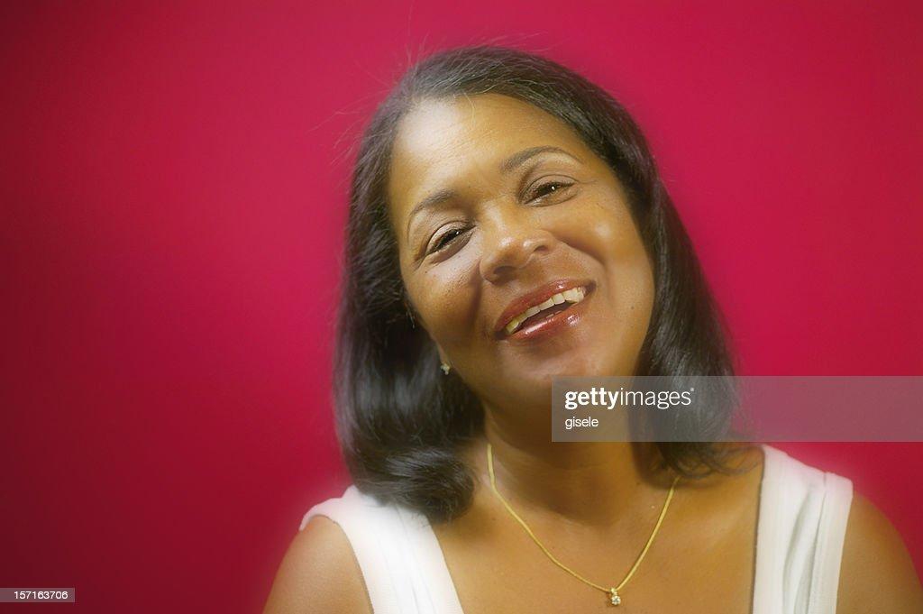 Pretty Black Woman : Stock Photo