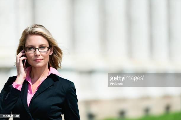 Pretty Blonde Lawyer
