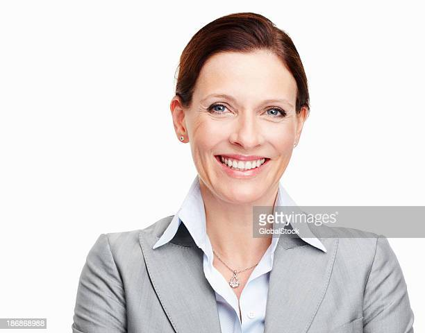 Pretty executive smiling