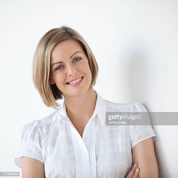 かわいい笑顔の女性専用エグゼクティブ