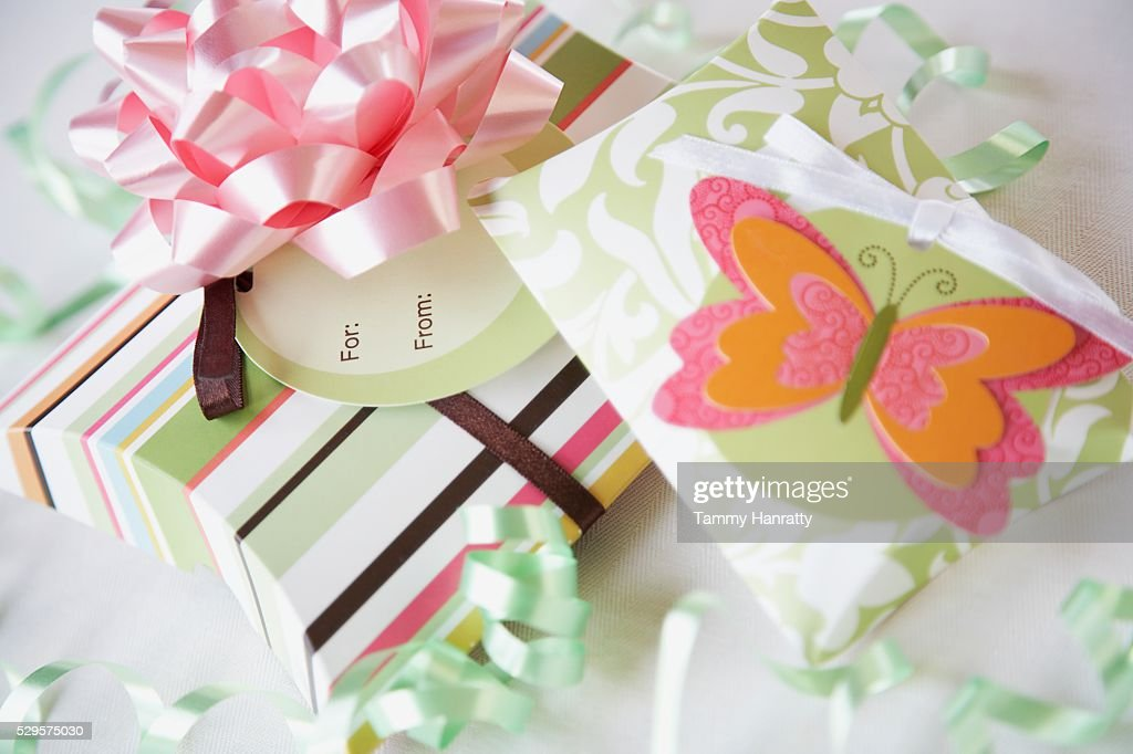 Pretty Gift Boxes : Stock-Foto