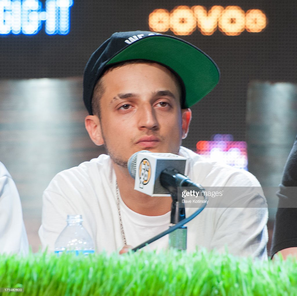 Pretty Lights attends the Rock The Bells 2013 press conference and launch party at Highline Ballroom on June 24, 2013 in New York City.