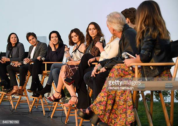 FREEFORM 'Pretty Little Liars' and 'Dead of Summer' premiere event at the Hollywood Forever Cemetery TYLER