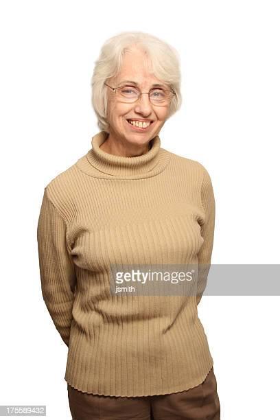 Pretty Senior Woman smile