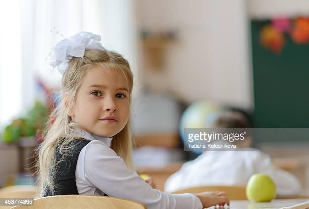 Prompt, little school russian girls class think