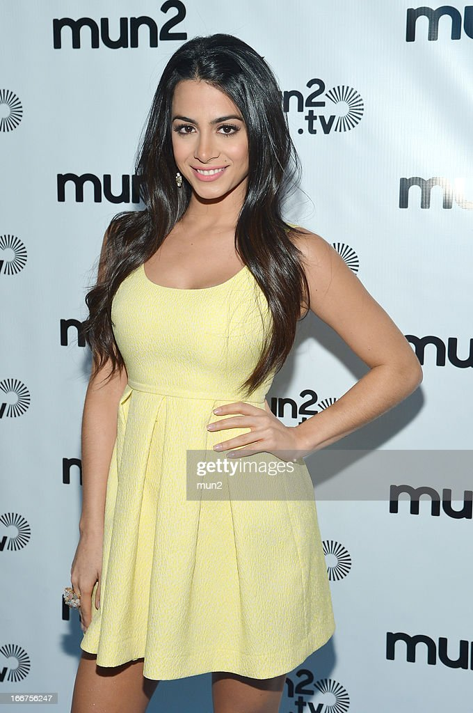 MUN2 - EVENTS -- Pre-Upfront Press Conference -- Pictured: Emeraude Toubia of '?mun2POP!' --
