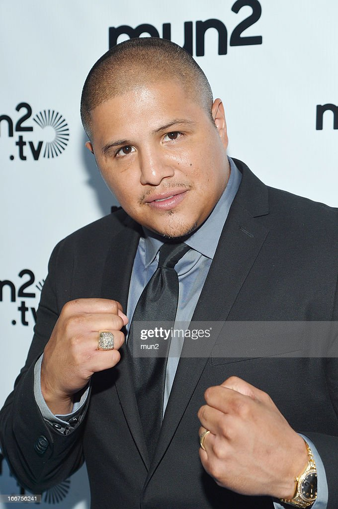 MUN2 - EVENTS -- Pre-Upfront Press Conference -- Pictured: Former professional boxer Fernando Vargas--