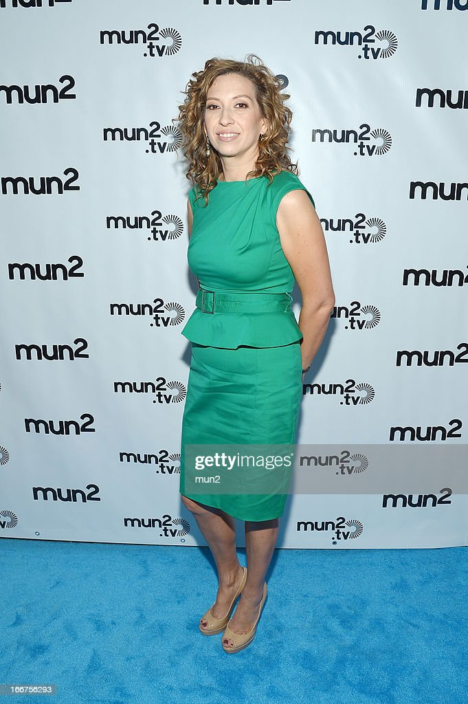 MUN2 - EVENTS -- Pre-Upfront Press Conference -- Pictured: MUN2 General Manager Diana Mogollon --