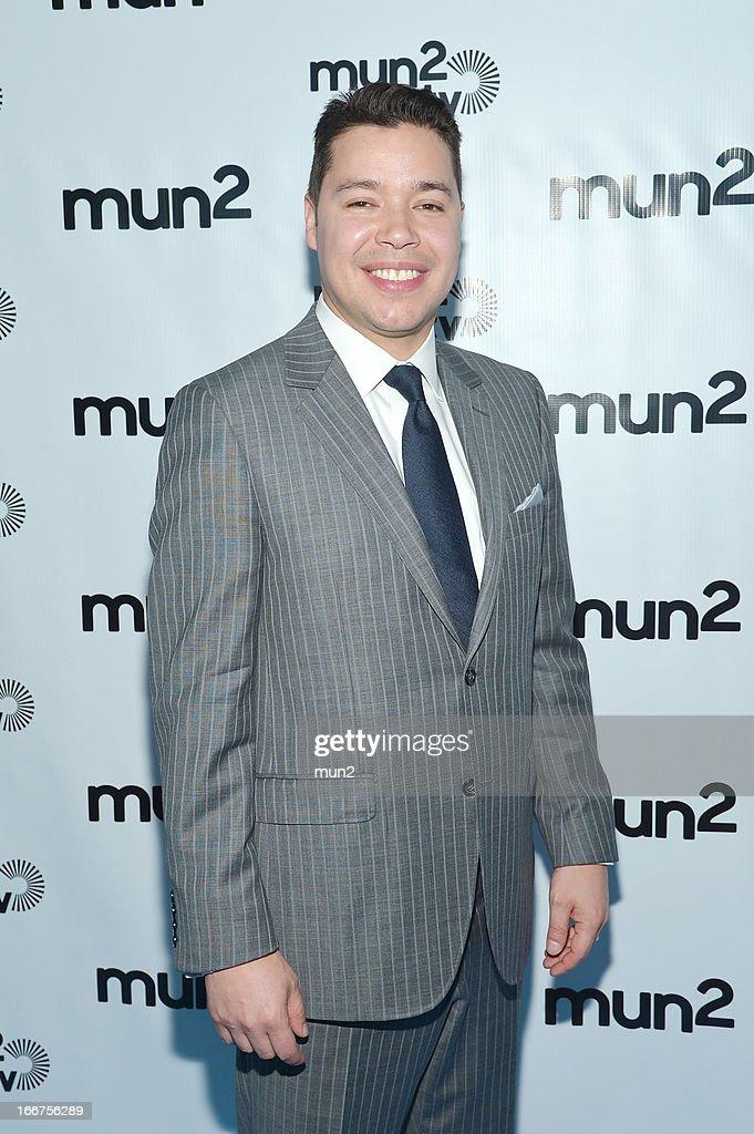 MUN2 - EVENTS -- Pre-Upfront Press Conference -- Pictured: MUN2 Senior V.P. of Sales Joe Bernard --