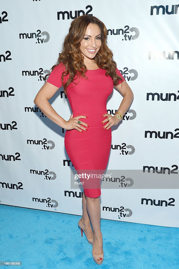 MUN2 - EVENTS -- Pre-Upfront Press Conference -- Pictured: Silvia del Valle of 'Al Tiro con la Bronca.' --