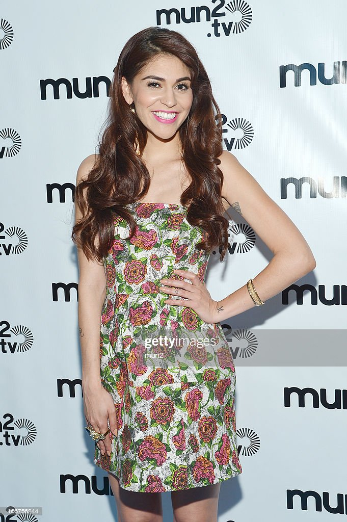 MUN2 - EVENTS -- Pre-Upfront Press Conference -- Pictured: TV personality Melissa 'Crash' Barrera. --