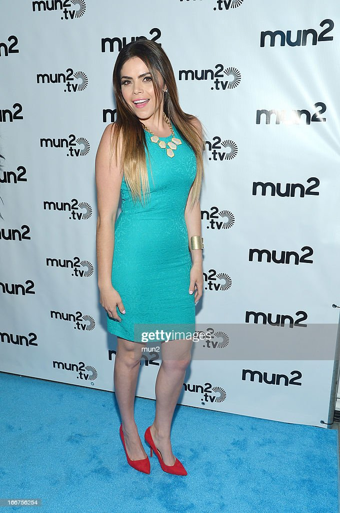 MUN2 - EVENTS -- Pre-Upfront Press Conference -- Pictured: Yarel Ramos of 'Reventon.' --