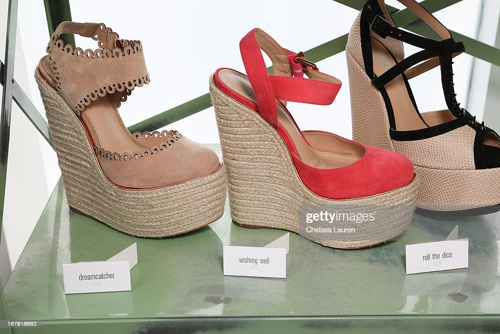A preview of the CJG Collection at Topshop/Topman at at The Grove on April 30, 2013 in Los Angeles, California.