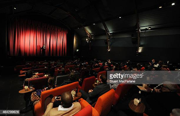Preview Screening of 'Invincibles' at the Everyman cinema in Hampstead on February 23 2015 in London England
