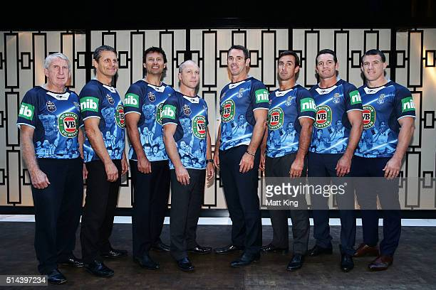 Previous winning New South Wales State of Origin captains Steve Mortimer Wayne Pearce Laurie Daley Geoff Toovey Brad Fittler Danny Buderus Andrew...