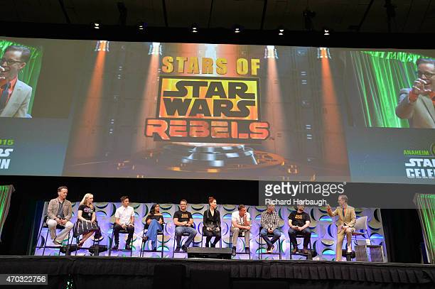 REBELS Previously undisclosed 'Star Wars Rebels' information and video was revealed to fans of the Disney XD animated series by its cast and...
